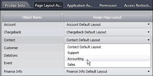 Assignment Page Layout Layout is Assigned